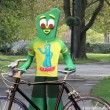 Cycle with Gumby