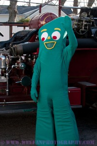 John Gumby Fan and Firefighter