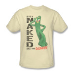 Gumby Buck Naked T-shirt