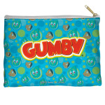 Gumby Zippered Accessory Bag