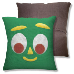 gumby throw pillowcase
