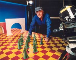 Art Clokey Animating Gumby