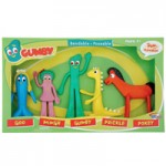 Gumby and Friends Bendable Figures Set