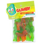 Gumby and Pokey Gummies Candy 6 oz package