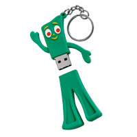 Gumby USB Flash Drive