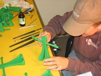 Making Gumby Puppets