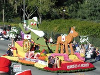 Gumby Rose Parade Float