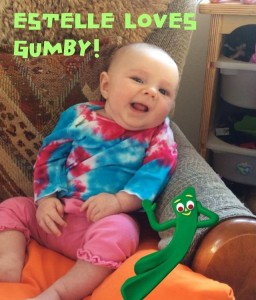 Gumby with baby