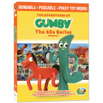 Gumby 60's DVD Vol. 1 with Pokey Bendable Toy