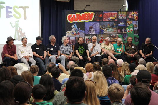Gumby Gang Presentation Panel