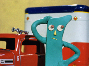 1950s Gumby with Firetruck