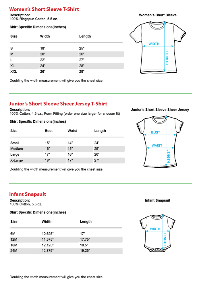 T shirt size chart driverlayer search engine for Men s shirt sizes explained
