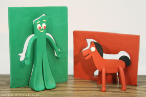 Gumby and Pokey Out of Slabs