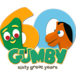 Gumby 60th Anniversary logo