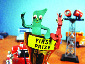 Gumby and Pokey win First Place