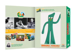 Gumby 50s DVD set with bendable toy