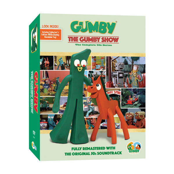 gumby-50s-dvd with bendable