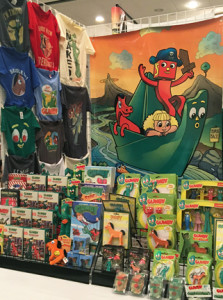 Gumby merchandise at Comic Fest