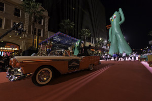 Gumby in Hollywood Christmas Parade