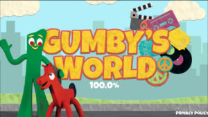 Gumby's World App Spash Screen