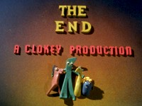 Clokey Productions End Frame